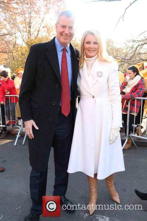Bill De Blasio and Sandra Lee 2