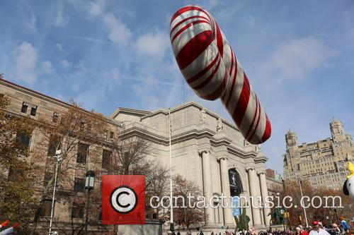 Candy Cane Balloon 1