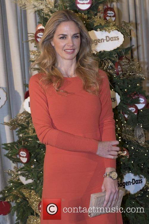 Genoveva Casanova at a photocall