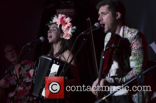 Natalia Tena and Sam Apley 8