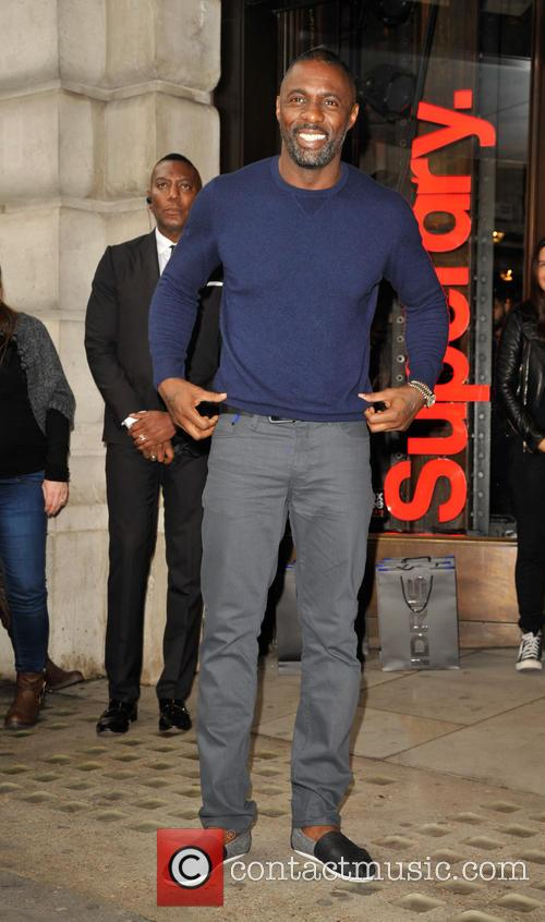 Idris Elba attends a photocall to launch the...