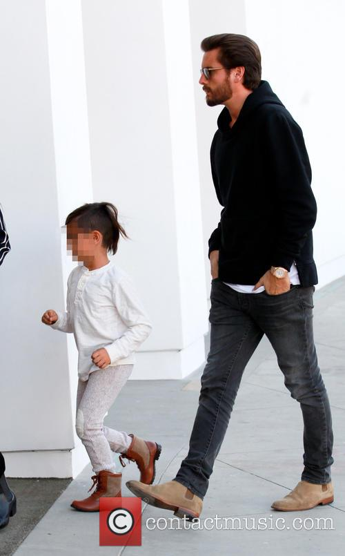 Scott Disick and Mason Dash Disick 5