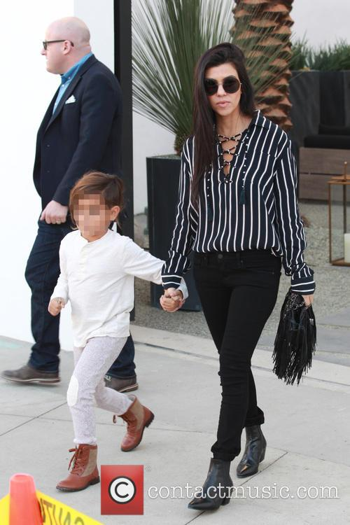 Kourtney Kardashian and Mason Dash Disick 11