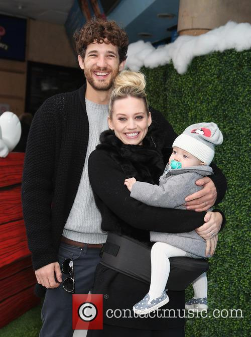 Kimberly Wyatt, Max Rogers and Willow Rogers 3