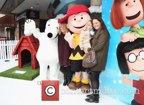 Snoopy, Linda Robson and Charlie Brown 3