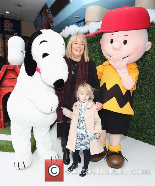Snoopy, Linda Robson and Charlie Brown 4