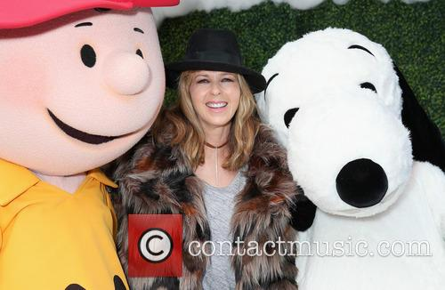 Charlie Brown, Kate Garraway and Snoopy 2