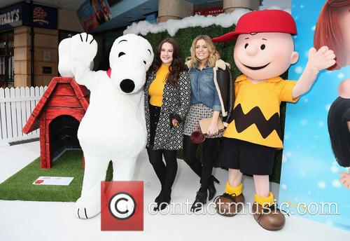 Snoopy, Kat Shoob, Olivia Cox and Charlie Brown 6