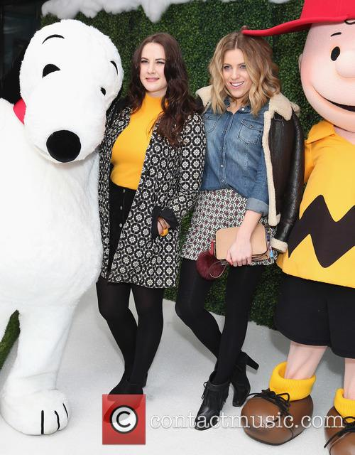 Snoopy, Kat Shoob, Olivia Cox and Charlie Brown 8