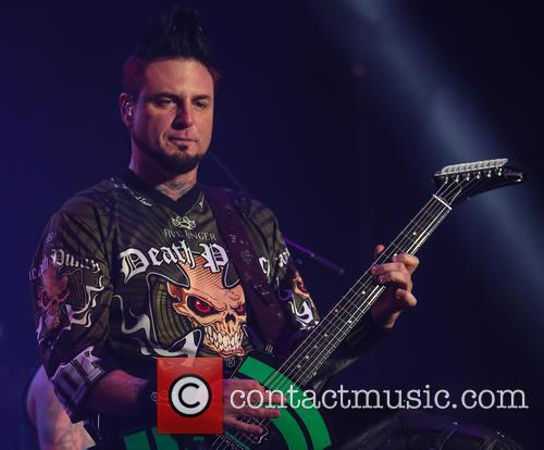 Five Finger Death Punch and Jason Hook 4