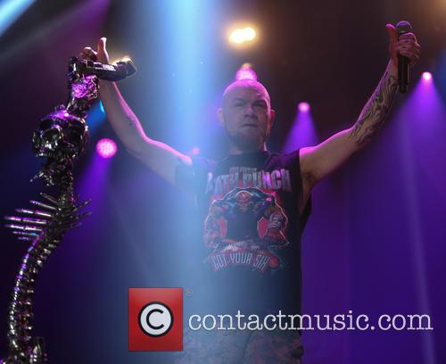 Five Finger Death Punch and Ivan Moody 8