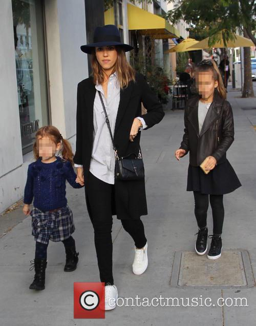 Jessica Alba, Honor Marie Warren and Haven Garner Warren 5