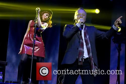 Jim Kerr and Catherine Ad 2