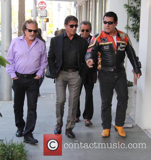 Sylvester Stallone and Chuck Zito 5