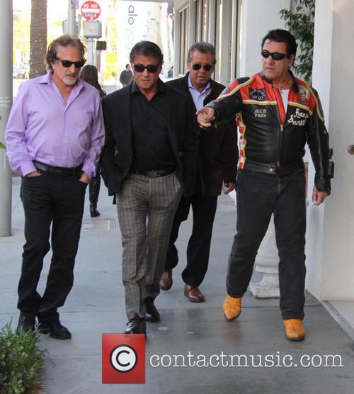 Sylvester Stallone and Chuck Zito 6