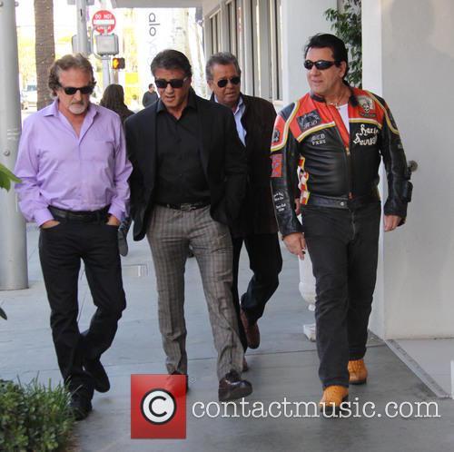 Sylvester Stallone and Chuck Zito 7
