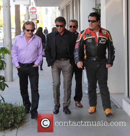Sylvester Stallone and Chuck Zito 8