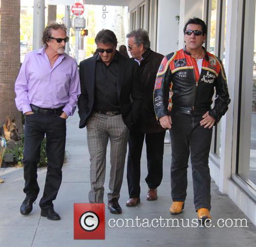 Sylvester Stallone and Chuck Zito 9