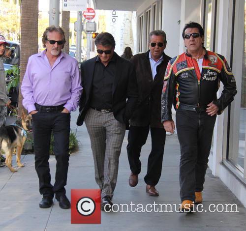 Sylvester Stallone and Chuck Zito 10