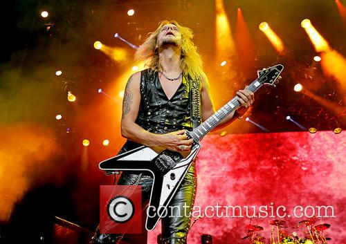 Richie Faulkner and Judas Priest 1