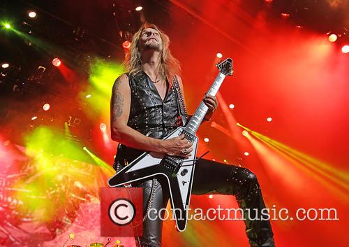 Richie Faulkner and Judas Priest 2