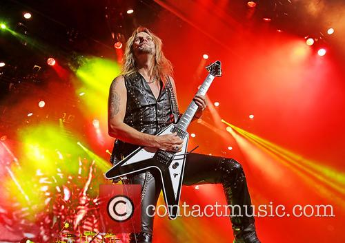 Richie Faulkner and Judas Priest 3