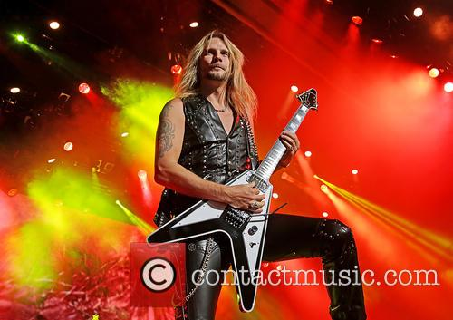 Richie Faulkner and Judas Priest 4