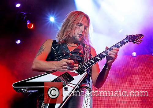 Richie Faulkner and Judas Priest 5