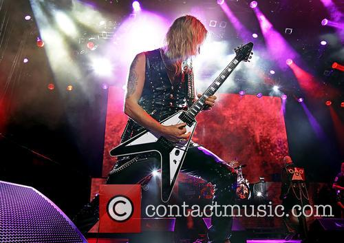 Richie Faulkner and Judas Priest 6