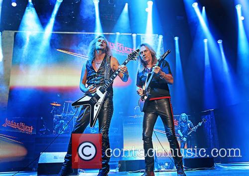 Richie Faulkner, Judas Priest and Glenn Tipton 8