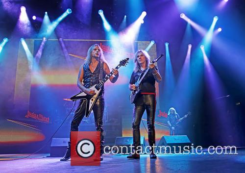 Richie Faulkner, Judas Priest and Glenn Tipton 9