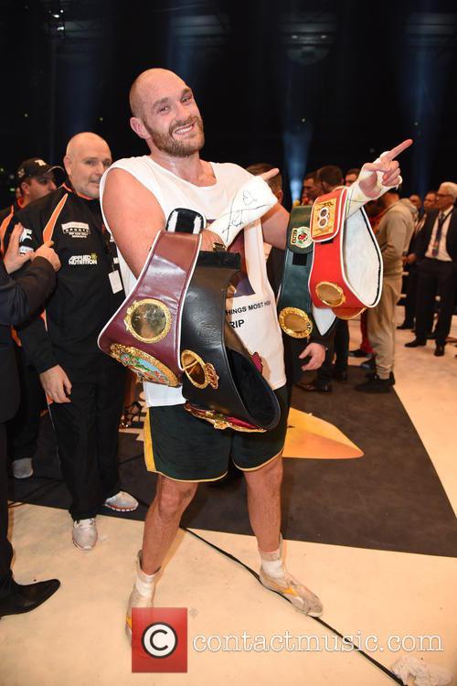 Wladimir Klitschko and Tuyson Fury 9