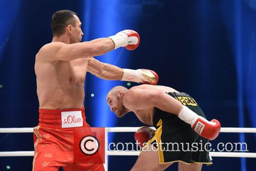 Tuyson Fury and Wladimir Klitschko 3