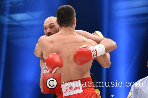 Tuyson Fury and Wladimir Klitschko 4