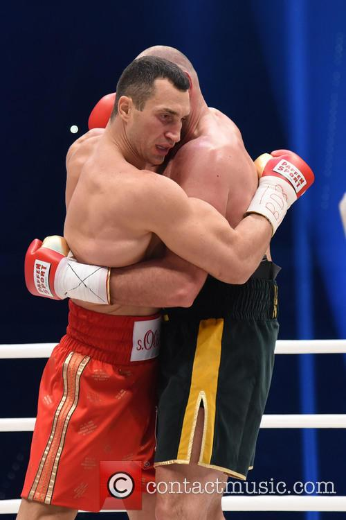 Tuyson Fury and Wladimir Klitschko 5