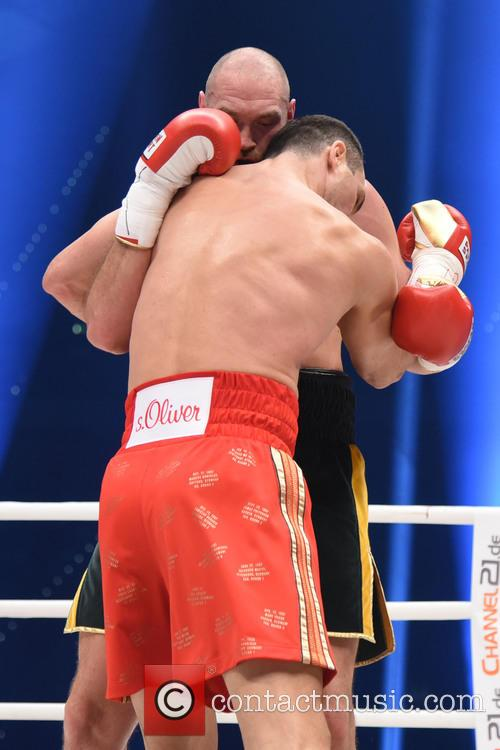 Tuyson Fury and Wladimir Klitschko 10