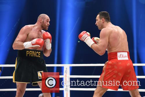 Tuyson Fury and Wladimir Klitschko 11