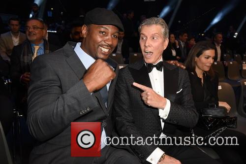 Lennox Lewis and Michael Buffer 3