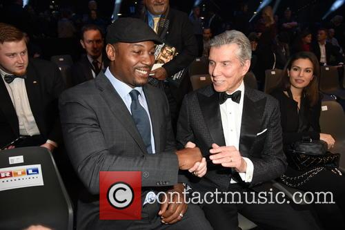 Lennox Lewis and Michael Buffer 4