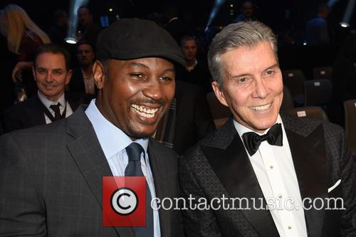 Lennox Lewis and Michael Buffer 5