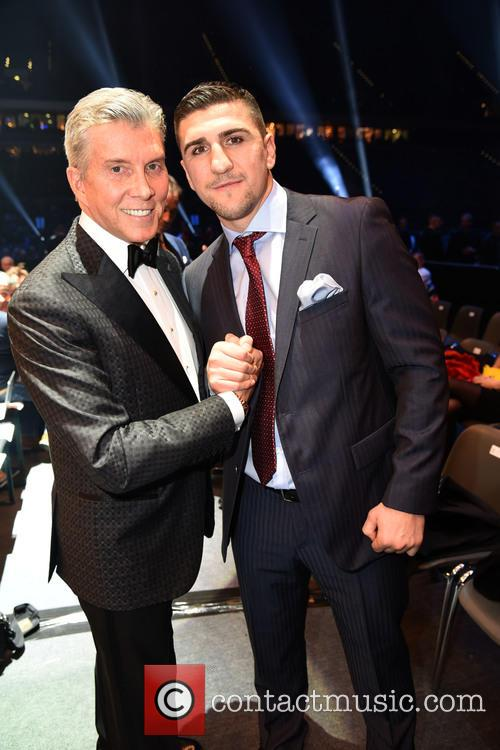Michael Buffer and Marco Huck 5