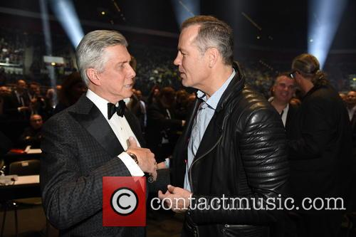 Michael Buffer and Henry Maske 9