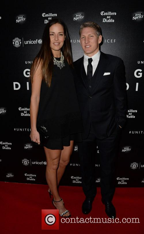 Bastian Shweinsteiger and Ana Ivanovic