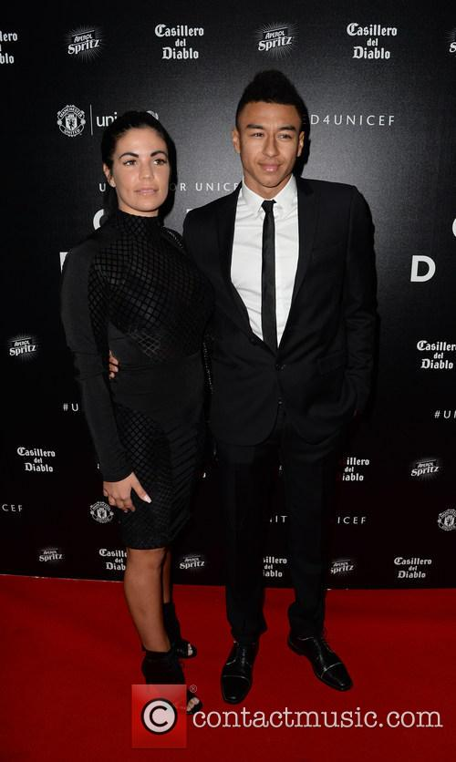 Jesse Lingard and Emma Hyde 2