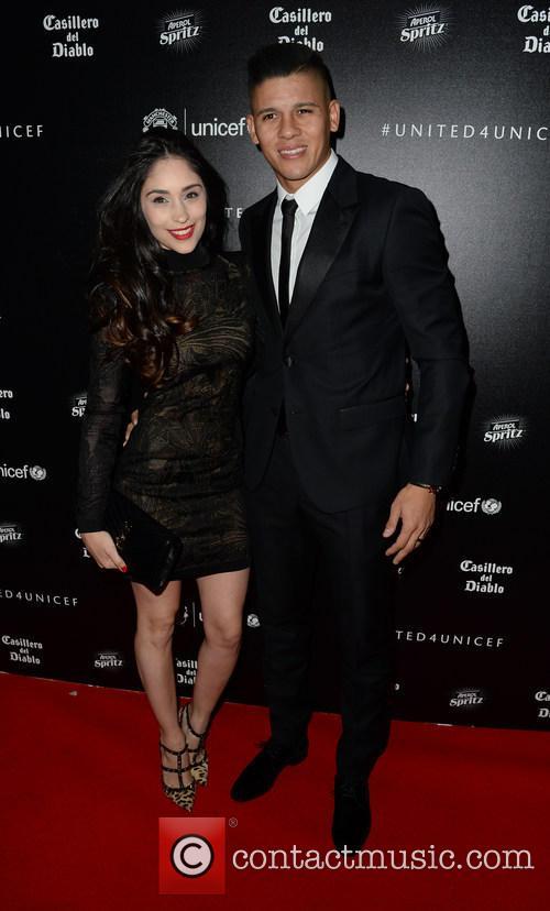 Marcos Rojo and Eugenia Lusardo 1
