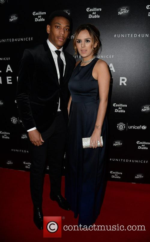 Anthony Martial and Samantha Martial 1