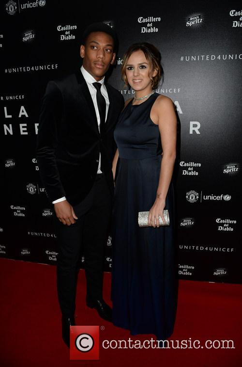 Anthony Martial and Samantha Martial 2