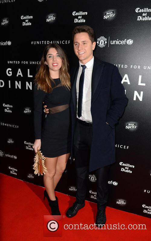 Ander Herrera and Isabel Collado 1