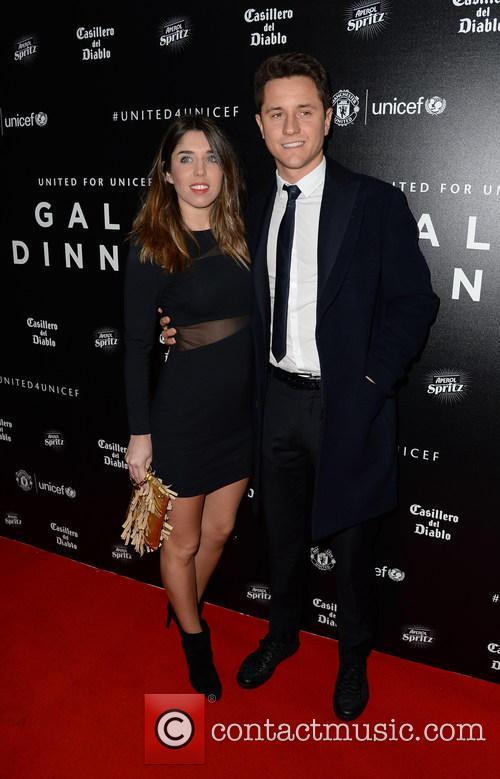 Ander Herrera and Isabel Collado 2