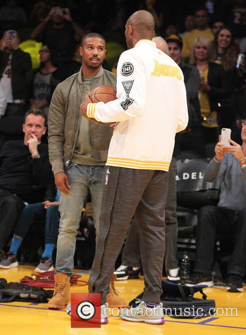 Michael B. Jordan and Kobe Bryant 10